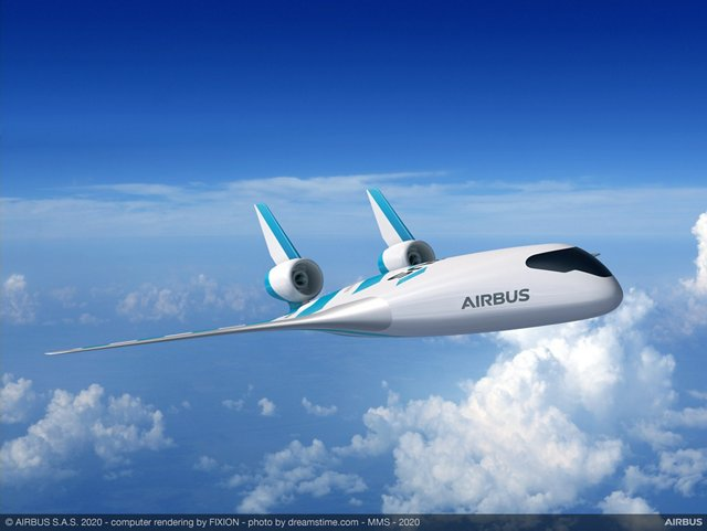 "Airbus has revealed MAVERIC (Model Aircraft for Validation and Experimentation of Robust Innovative Controls) its ""blended wing body"" scale model technological demonstrator. 