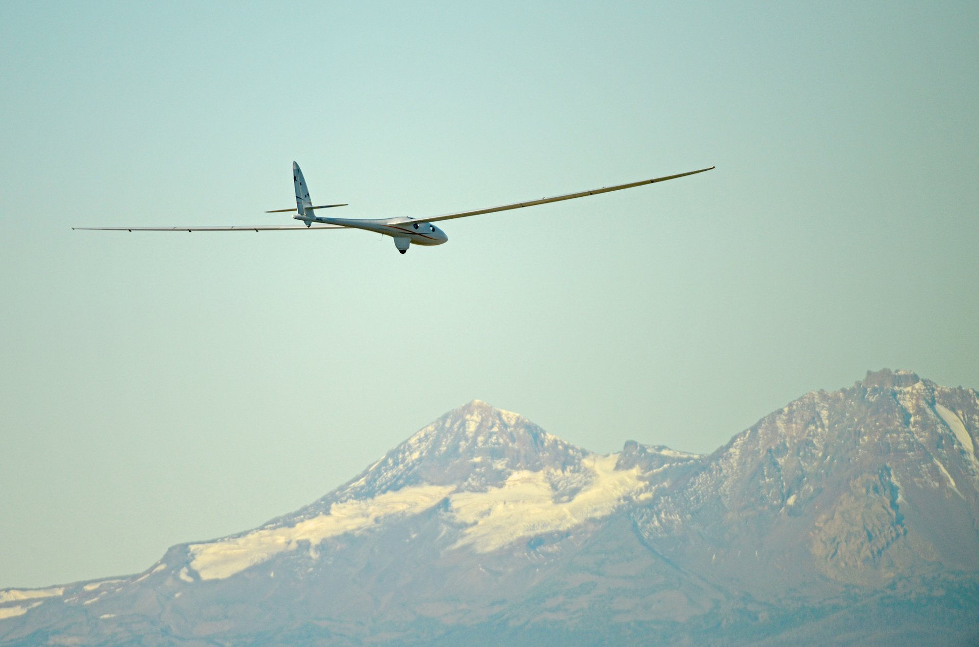 The Perlan 2 glider performs its maiden flight