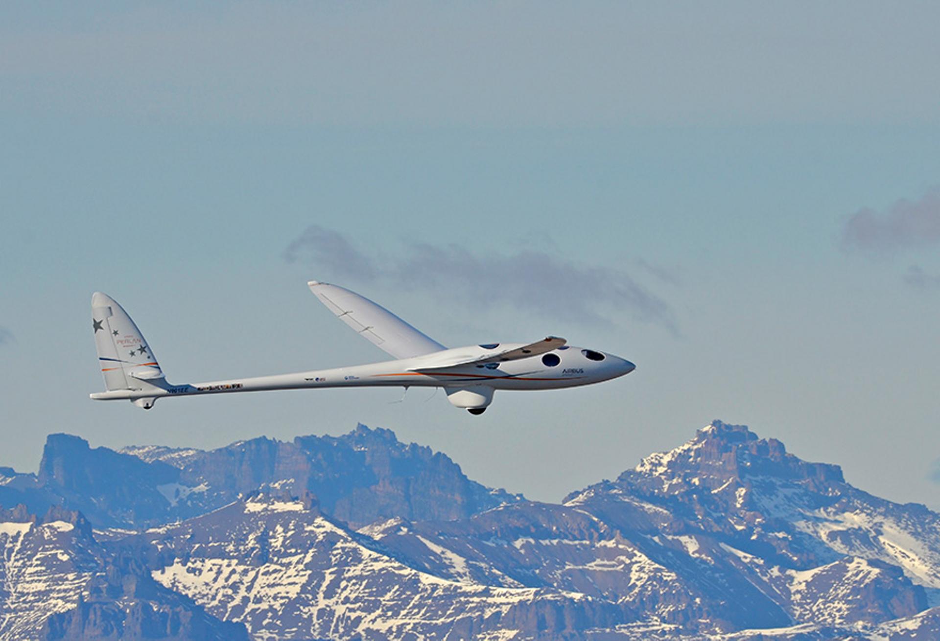 Perlan II flying over Argentina