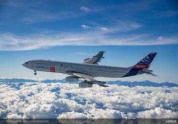 A340 Airbus Flightlab webpage
