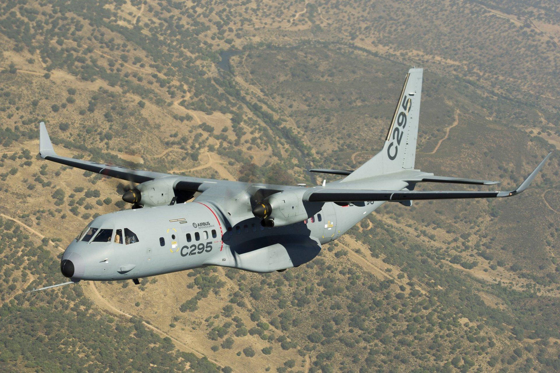 Airbus Defence e Space C295 Credits: Airbus