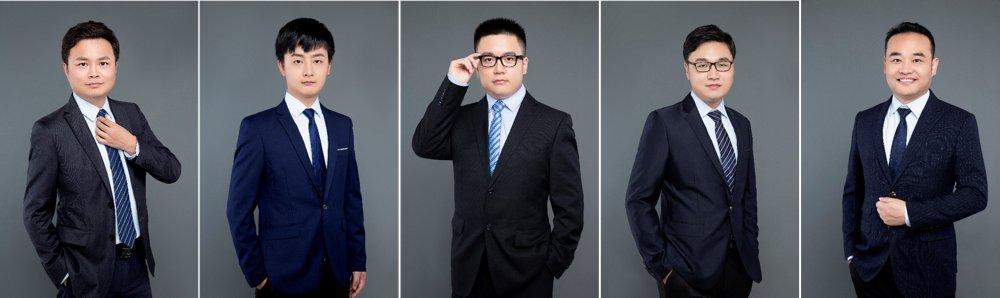 Yongjie Zhao, Weicheng Kong, Zhaoyun Chen, Zhilong Jia, Hui Zhang (from left to right)