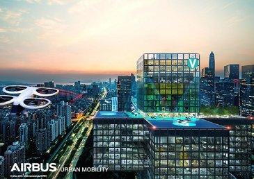 Airbus Urban Mobility infrastructure concept: Shenzhen