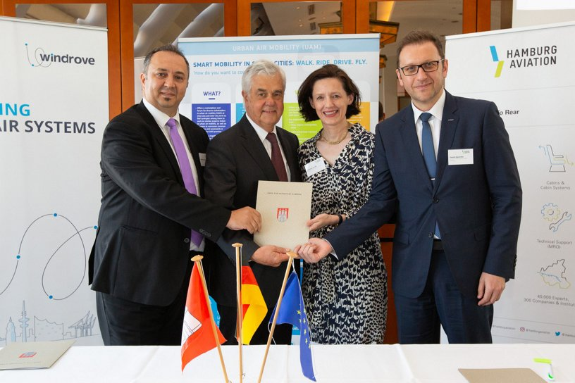 Hamburg joins the Urban Air Mobility (UAM) Initiative