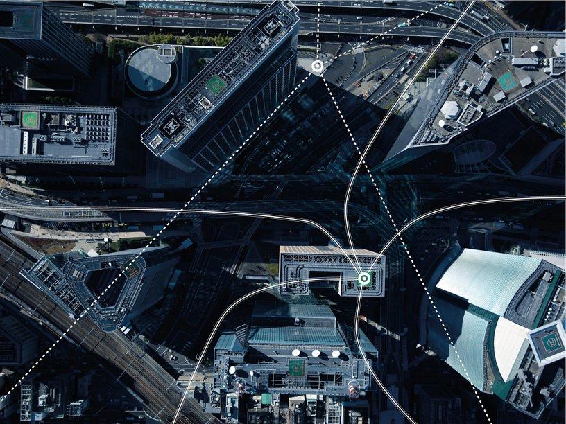 Airbus UTM cityscape