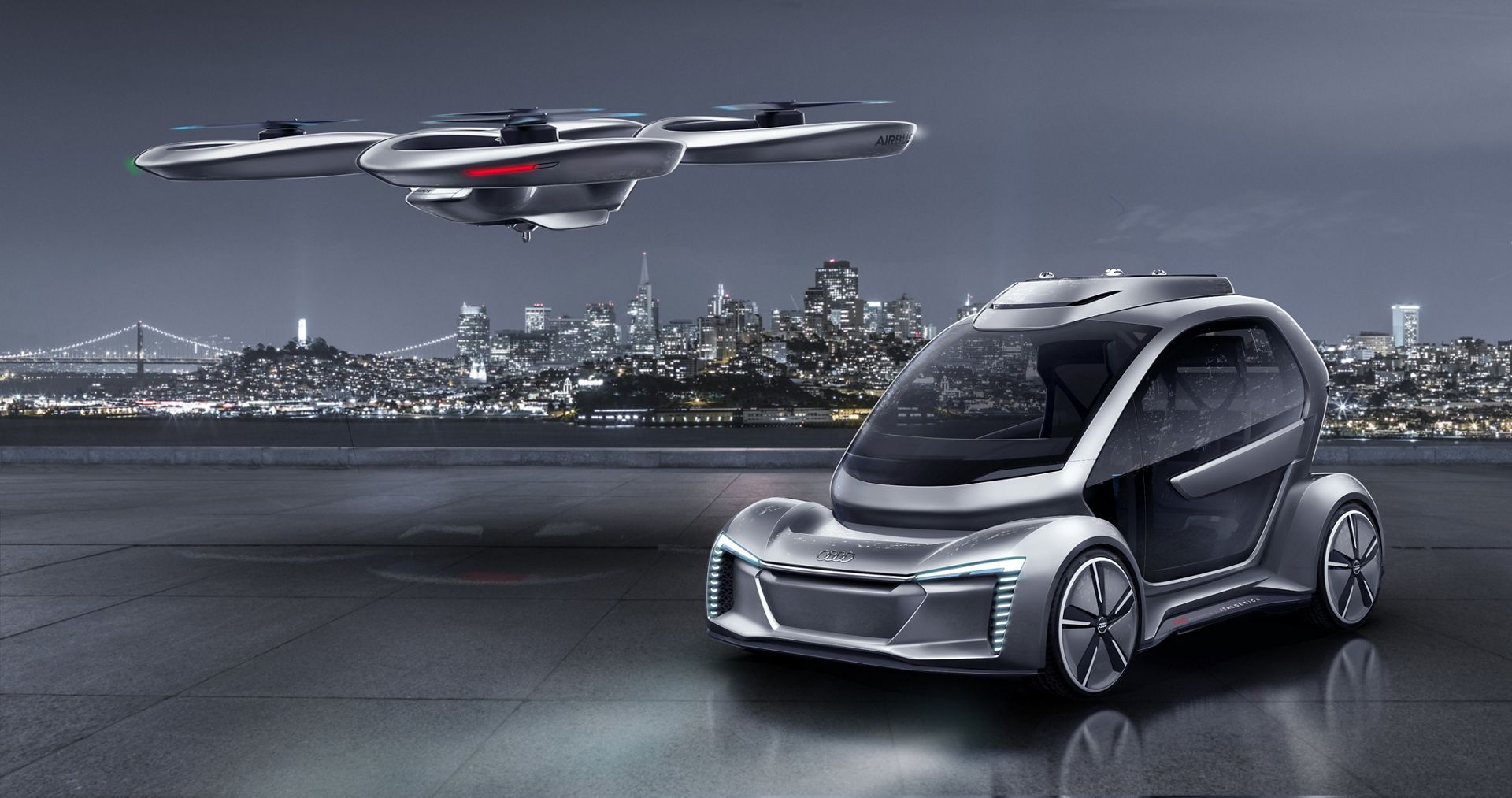 Airbus and Audi partner for urban mobility services