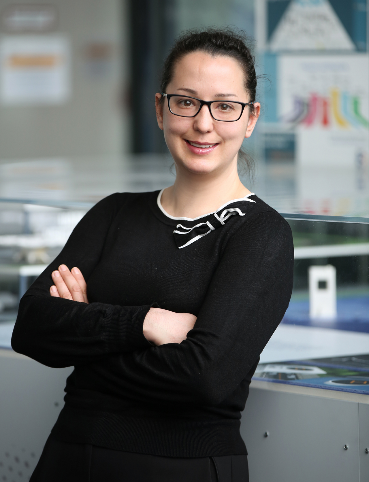 Mona Moren is involved with the CityAirbus demonstrator vehicle integration with Airbus Helicopters