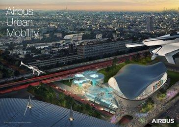 Airbus UAM Paris Vision