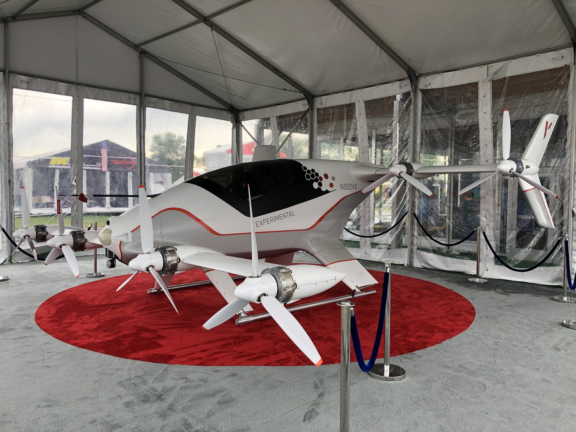 Vahana Alpha Two eVTOL demonstrator
