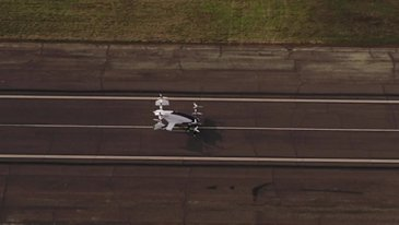 Vahana Footage Takeoff Inflight