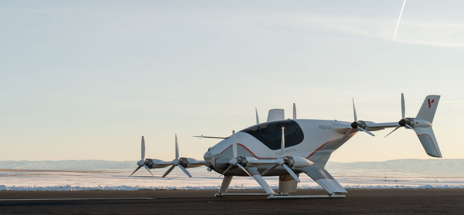 The autonomous eVTOL technology demonstrator, Vahana, performed its first flight on 31 January 2018