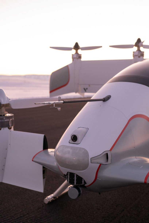 Airbus Vahana Alpha Two Sensors