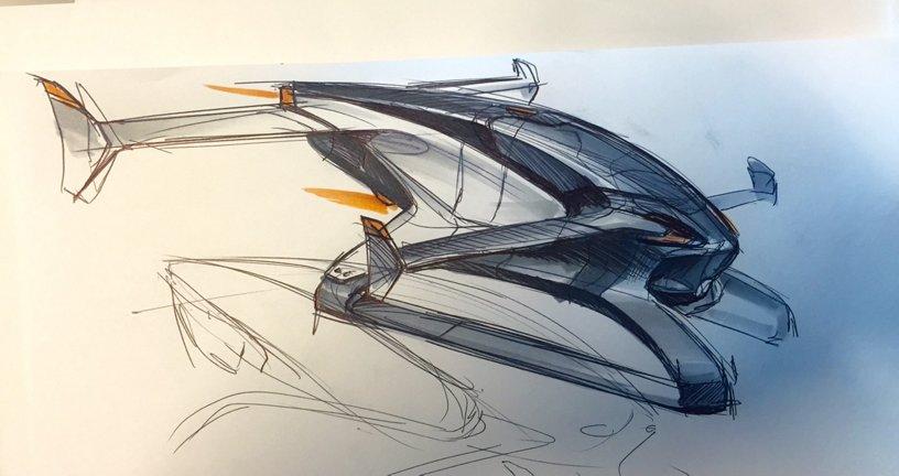 Vahana Sketch 1