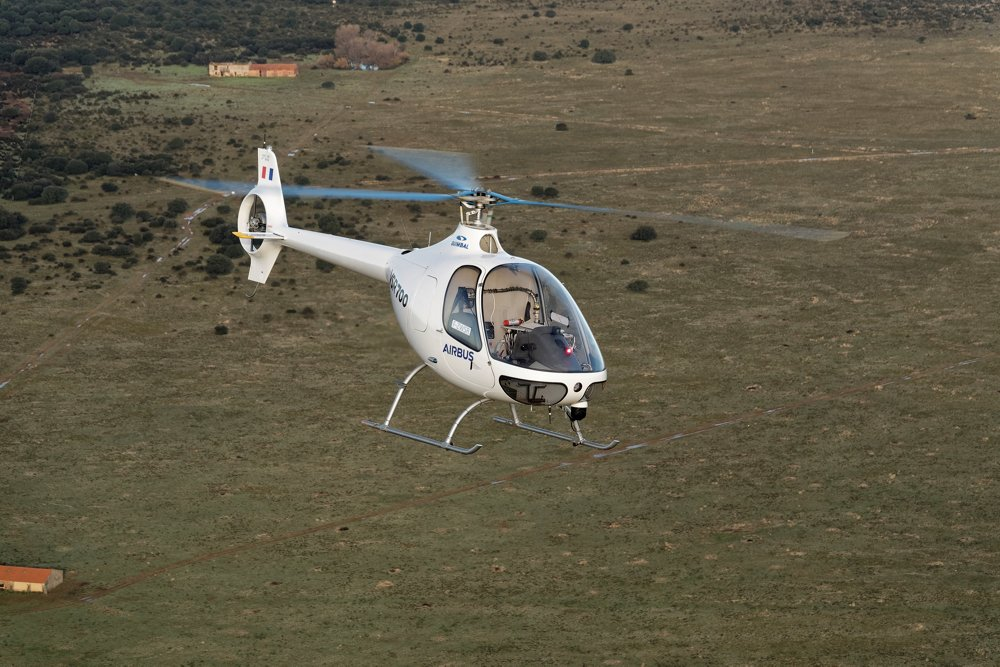 AG真人计划 Helicopters VSR700 demonstrator flies unmanned