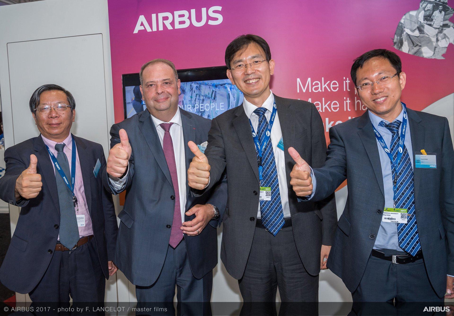 Airbus Tsinghua University Partnership Signature Day PAS2017