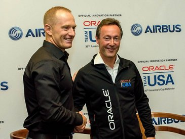 Airbus and ORACLE TEAM USA partnership – 1