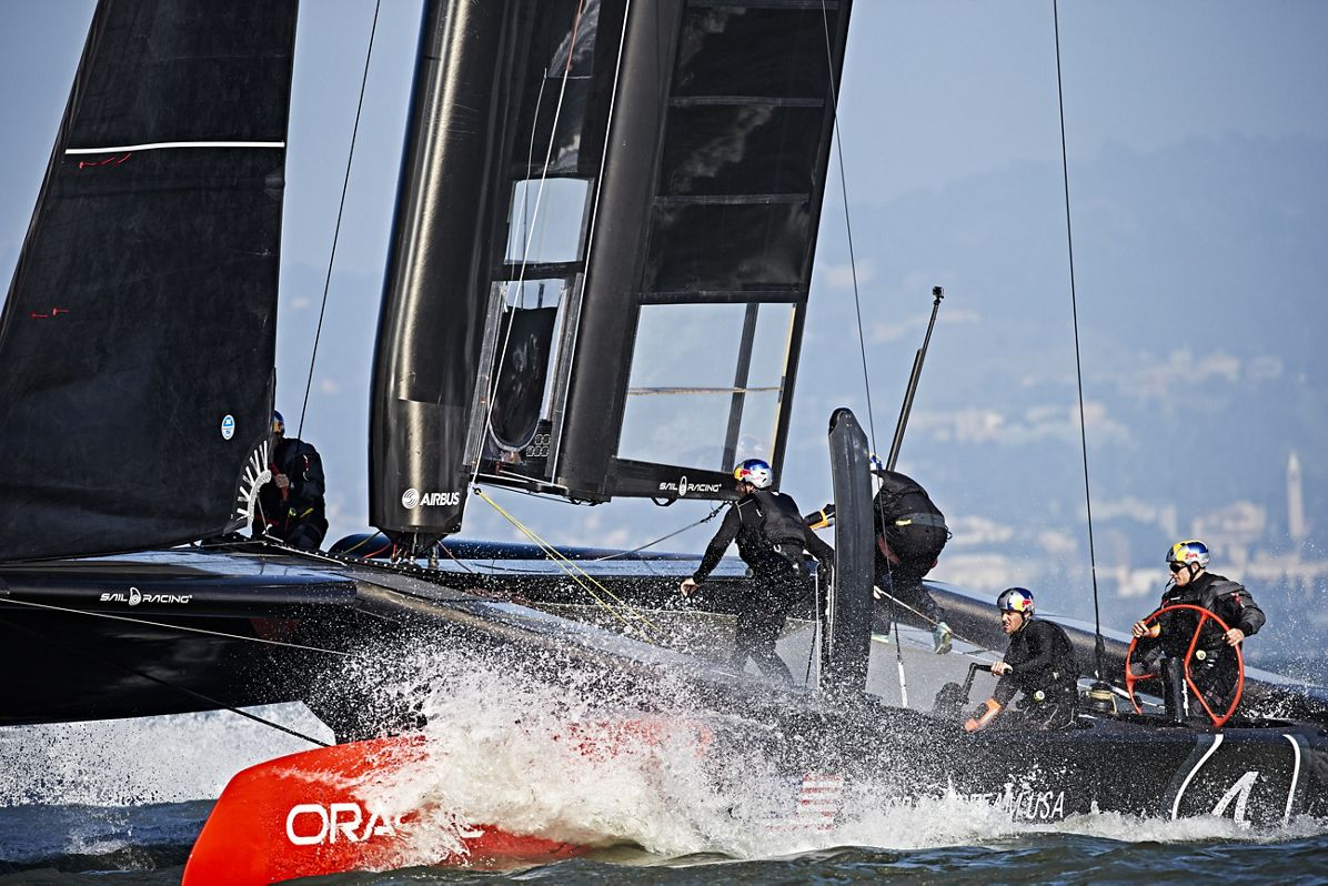 Airbus and ORACLE TEAM USA: one step closer to the 2017 America's Cup yacht race