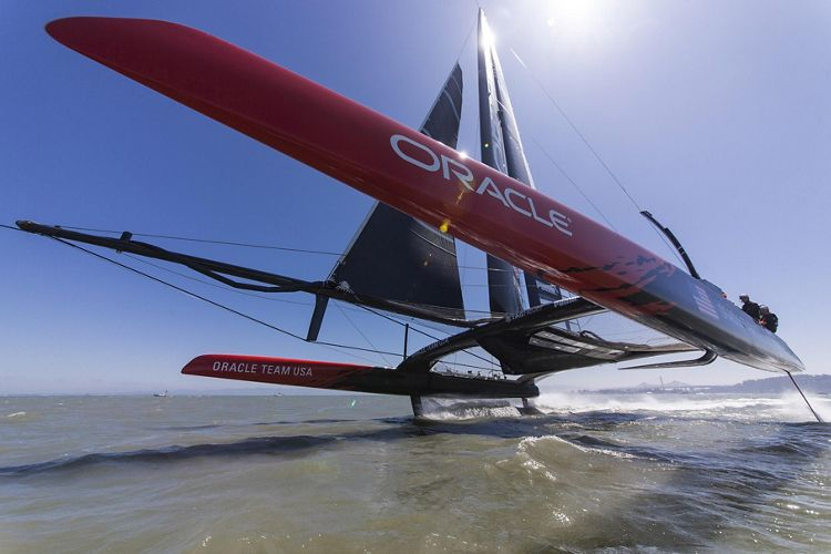 Airbus and ORACLE TEAM USA partnership – 2