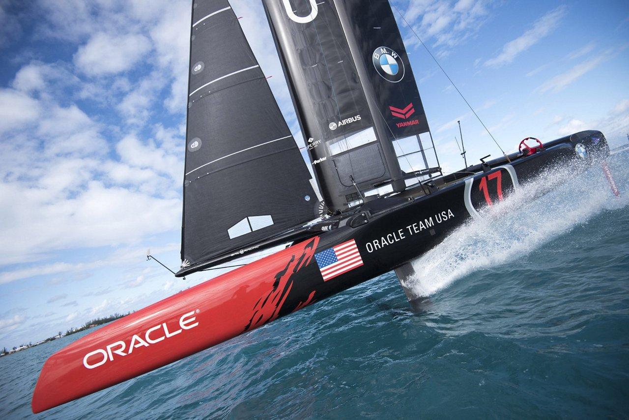 ORACLE TEAM USA_AC Class yacht