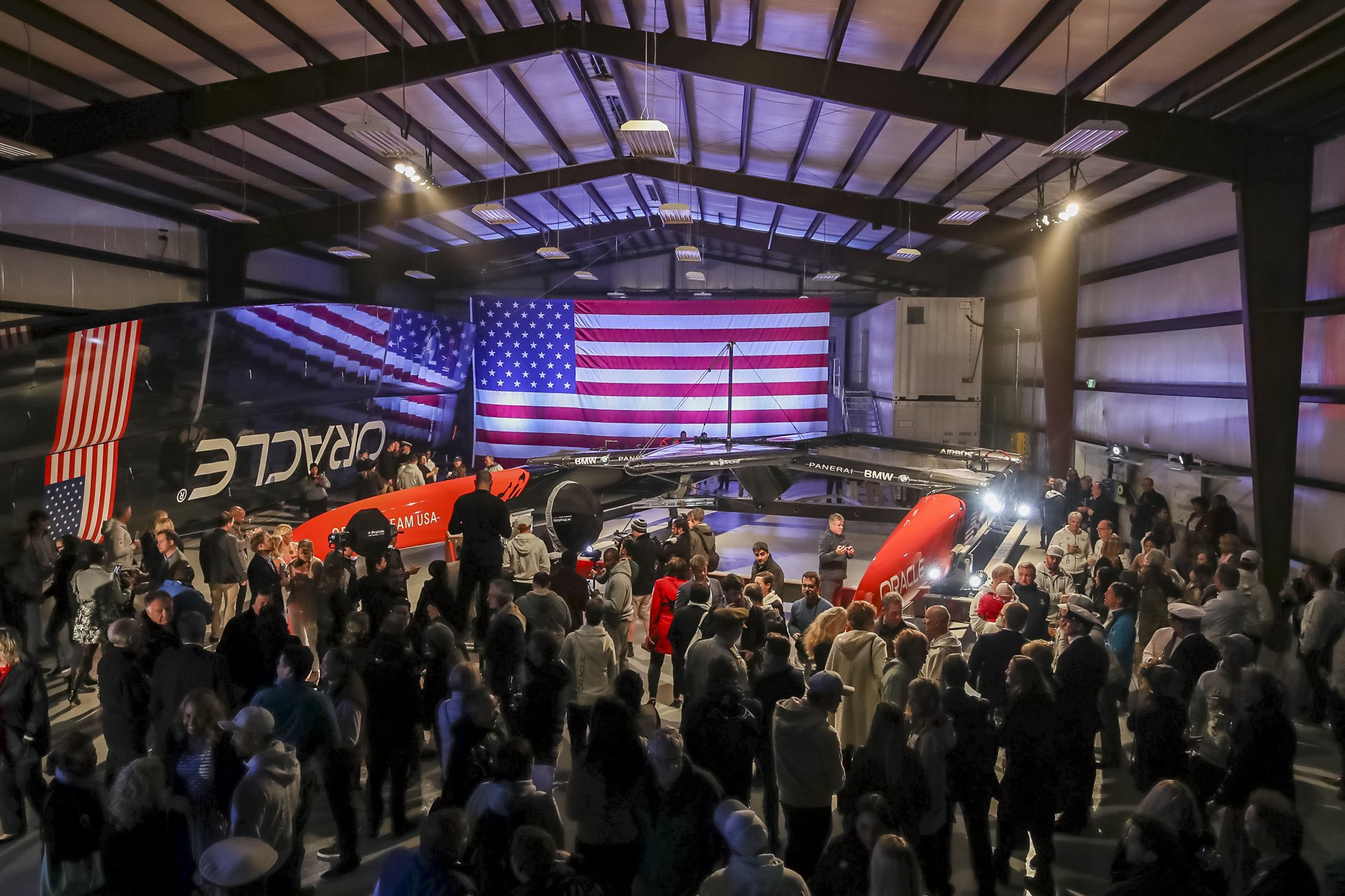 ORACLE TEAM USA_Unveiling Ceremony
