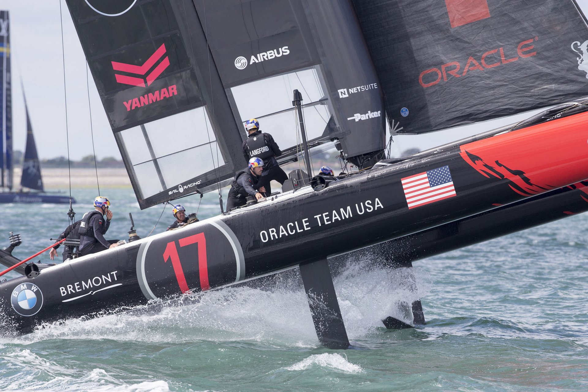 ORACLE TEAM USA_America's Cup World Series 3