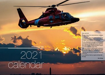 2021 Military Helicopter Calendar Cover2