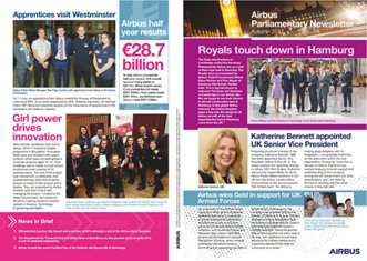 Airbus Parliamentary Newsletter - Autumn 2017