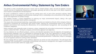 Airbus Environmental Policy Statement