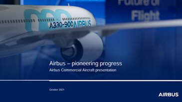Airbus Commercial Aircraft Presentation - October 2021