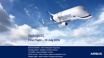 BelugaXL First Flight Presentations