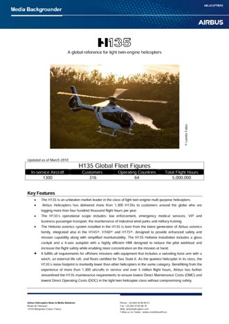 H135 Backgrounder March2019