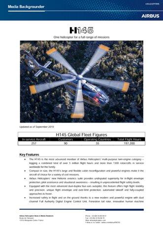 H145 Backgrounder