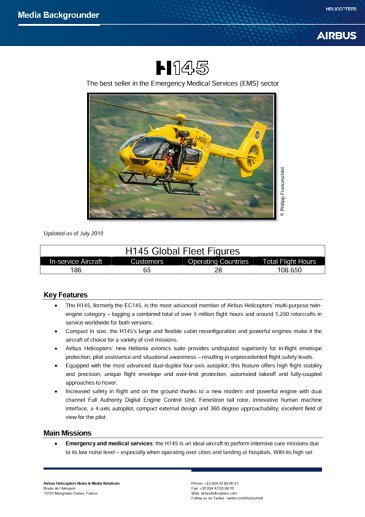 H145_Backgrounder_July2018a