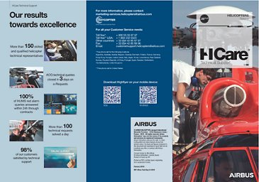 HCare Technical support 2018