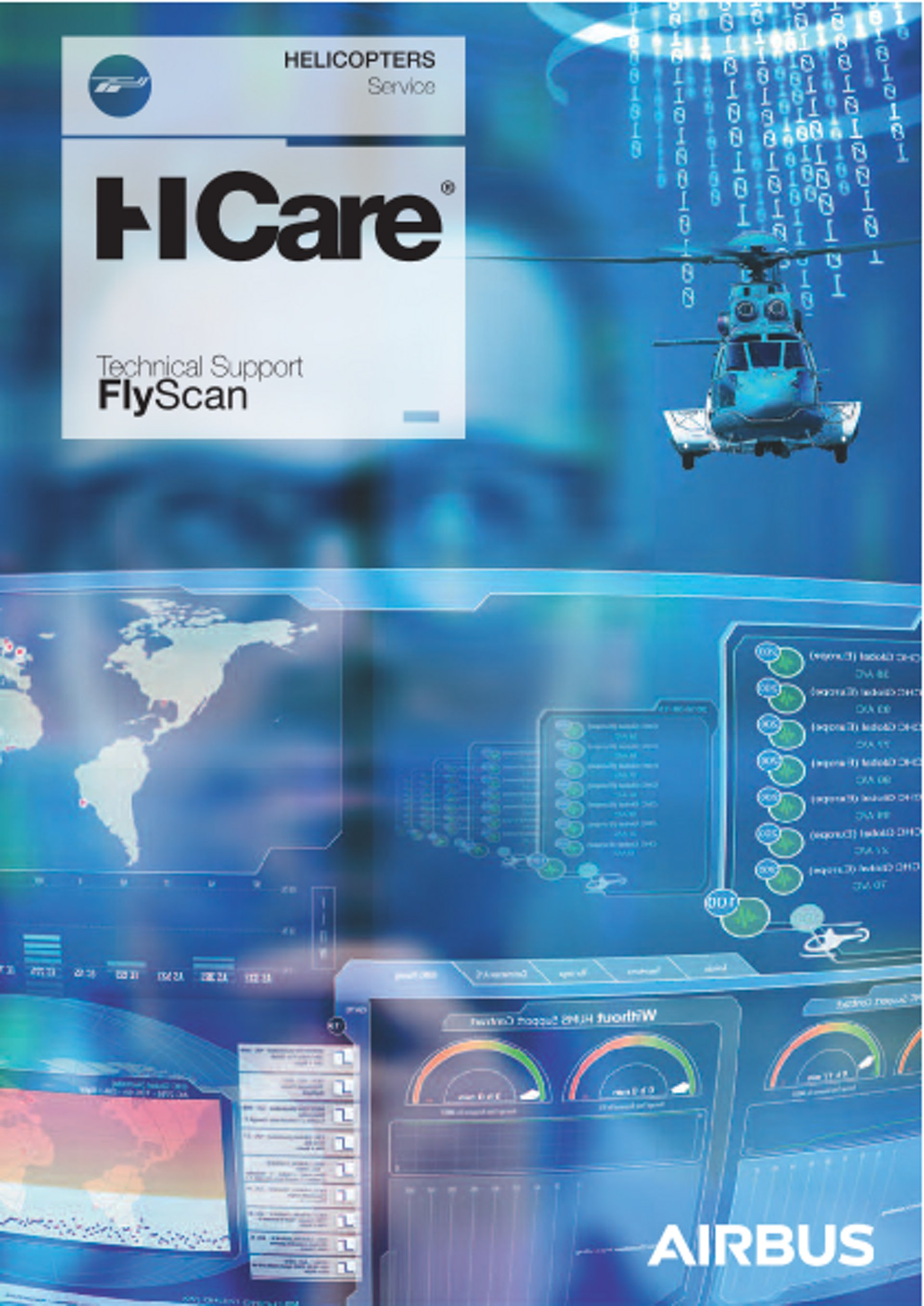HCare Technical Support FlyScan