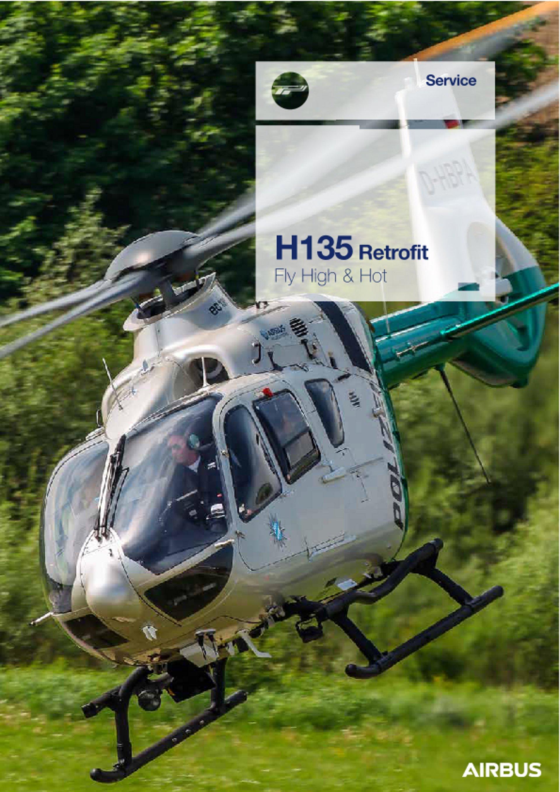 HCare H135 Retrofit Fly High & Hot