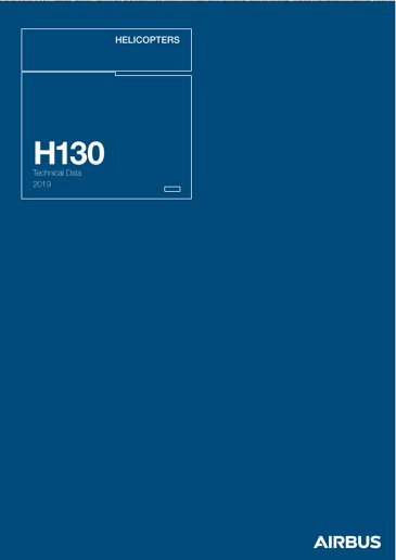 Technical Data H130 2019