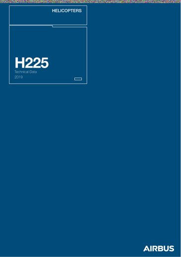 Technical Data H225 LP 2019