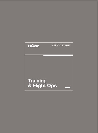 HCare Training and Flight Ops