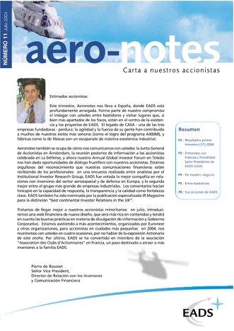 Aero-notes 11 (Julio 2004)