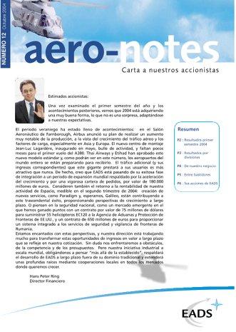 Aero-notes 12 (Octubre 2004)