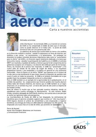 Aero-notes 13 (Febrero 2005)