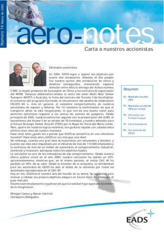 Aero-notes 14 (Marzo 2005)