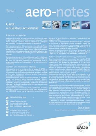 Aero-notes 19 (Junio 2007)