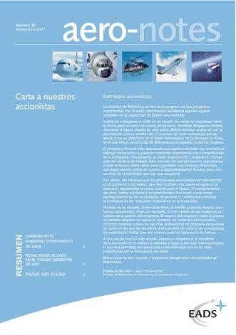 Aero-notes 20 (Noviembre 2007)