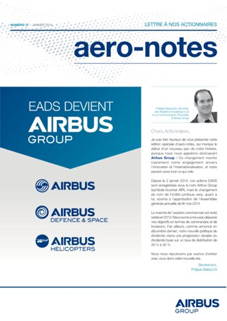 Aero-notes 37 (Janvier 2014)