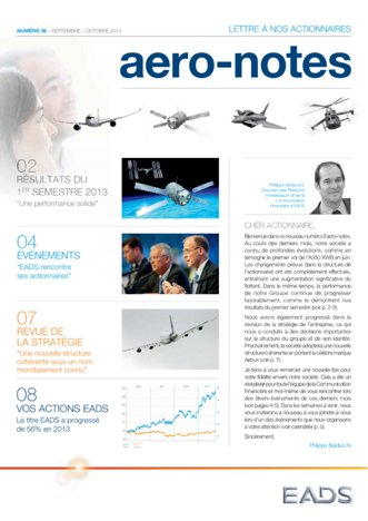 Aero-notes 36 (Septembre-Octobre 2013)