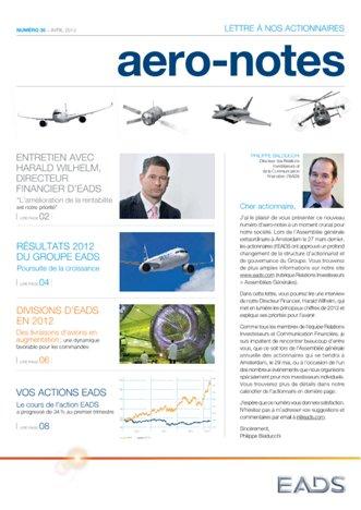 Aero-notes 35 (Avril 2013)