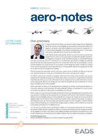 Aero-notes 34 (Novembre 2012)