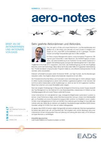 Aero-notes 34 (November 2012)